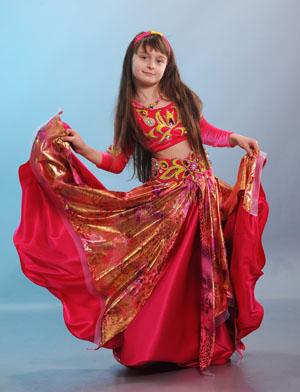 восточный костюм для девочки 2014