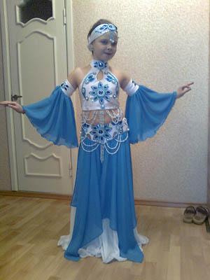 Дизайн костюма для восточного танца