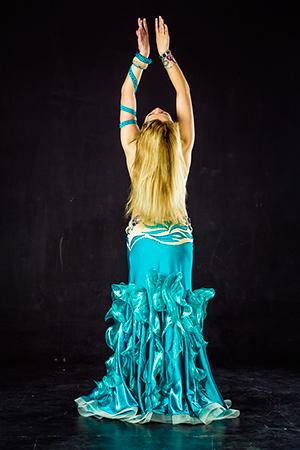 Юбка восточные танцы с разрезами