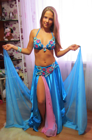 восточный костюм для девочки от ателье Покровских