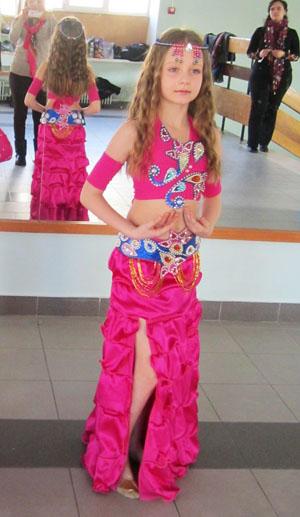 костюм для танца живота для девочки