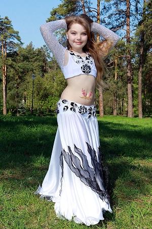 танец живота восточный костюм для девочки от ателье Покровских