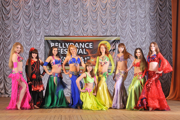 танец живота RAHAT LUKUM Киев
