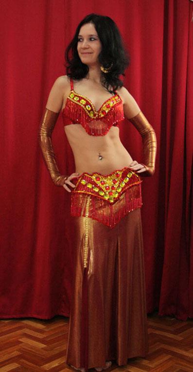 восточный костюм для танцев беллиданс интернет -ателье Покровских