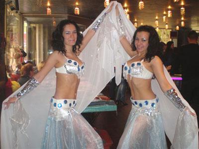 костюм для восточных танцев ветер