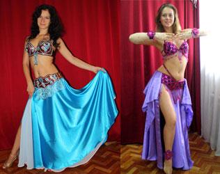 Восточных танцев юбка купить
