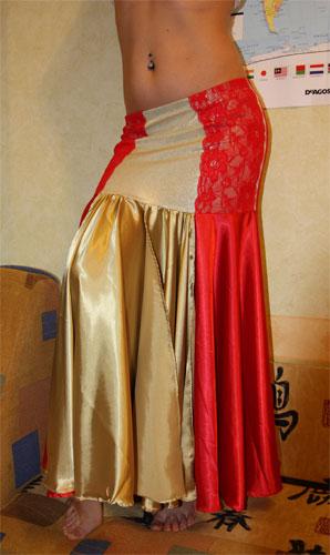 юбка на кокетке солнце клеш  для танца живота