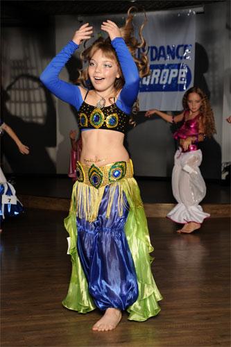 Детский восточный костюм для танца живота.