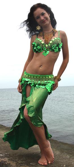 Восточный костюм. Юбка рыбка