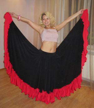 купить юбка для танца фламенко киев