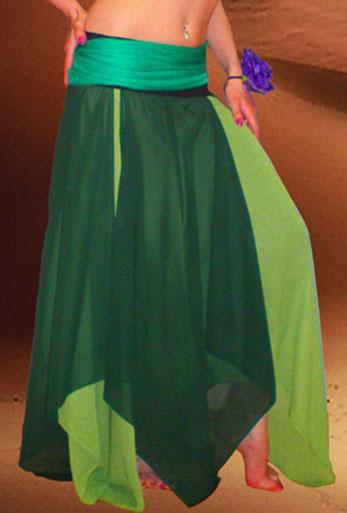 юбка клинья  для танца живота