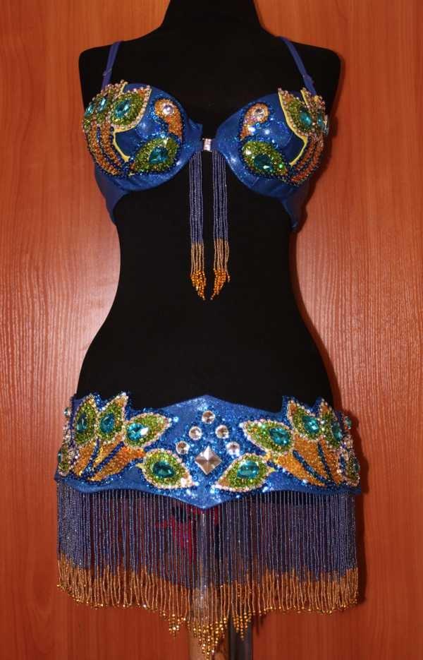 дизайнерский костюм bellydance от ателье Покровских