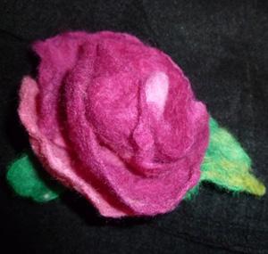 цветы валяние из шерсти ателье покровских