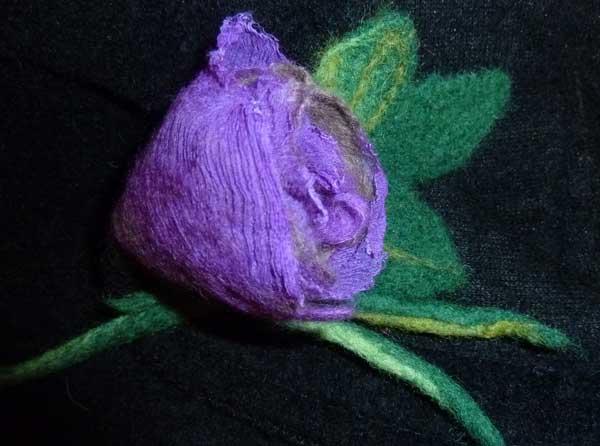 цветы валяние из шерсти картинки ателье покровских