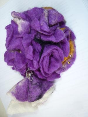 цветы валяние из шерсти фото ателье покровских